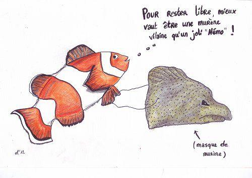 Malheureux comme un poisson qui tourne en rond code animal for Plante bocal poisson rouge